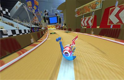 Screenshots of the Turbo Racing League game for iPhone, iPad or iPod.