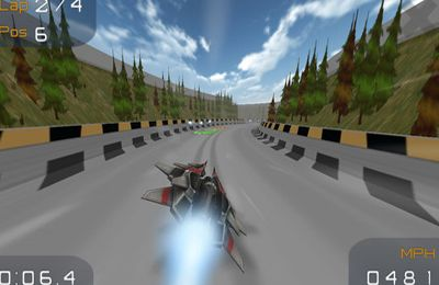Screenshots of the TurboFly game for iPhone, iPad or iPod.