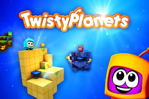 Download Twisty planets iPhone free game.