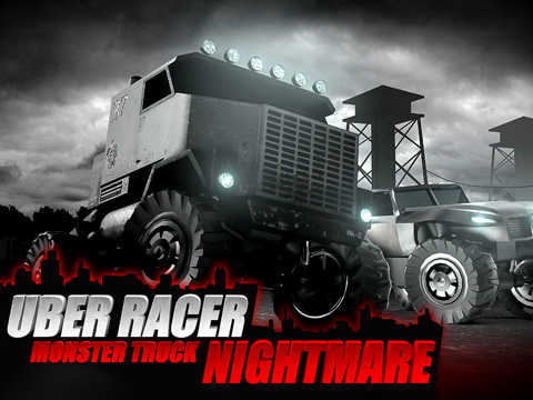 Download Uber racer 3D monster truck: Nightmare iPhone free game.