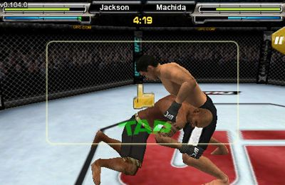 Screenshots of the UFC Undisputed game for iPhone, iPad or iPod.