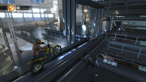 Screenshots of the Urban trial freestyle game for iPhone, iPad or iPod.