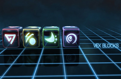 Screenshots of the Vex Blocks game for iPhone, iPad or iPod.