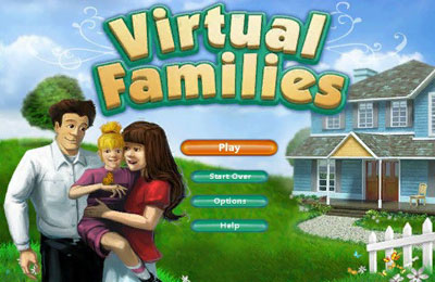 Screenshots of the Virtual Families game for iPhone, iPad or iPod.