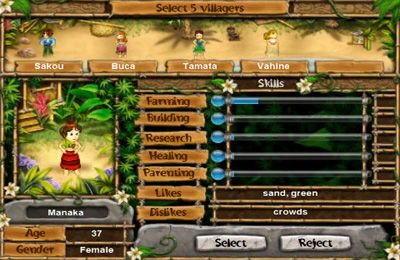 how to get food on virtual villagers tree of life