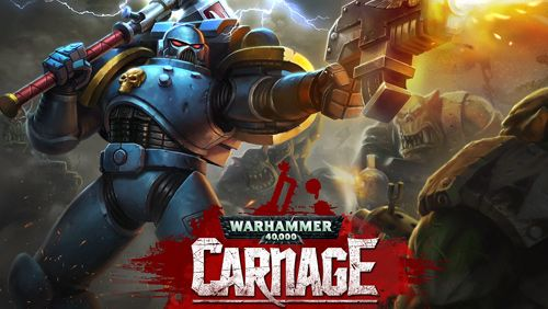 Screenshots of the Warhammer 40 000: Carnage game for iPhone, iPad or iPod.