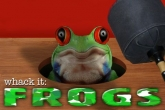 In addition to the game Angry World War 2 for iPhone, iPad or iPod, you can also download Whack it: Frogs for free