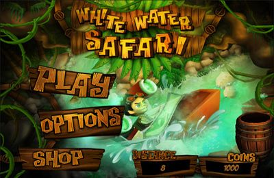 Download White Water Safari iPhone free game.