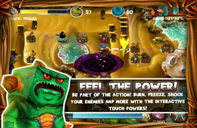 Screenshots of the Wild Heroes game for iPhone, iPad or iPod.