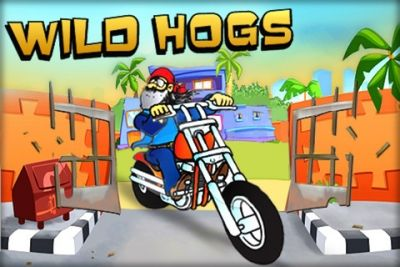 Screenshots of the Wild hogs game for iPhone, iPad or iPod.