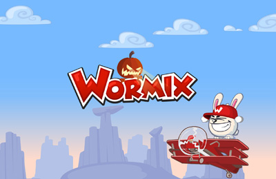 Screenshots of the Wormix game for iPhone, iPad or iPod.