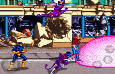 Screenshots of the X-Men game for iPhone, iPad or iPod.