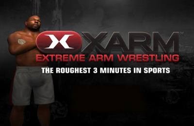 Screenshots of the XARM Extreme Arm Wrestling game for iPhone, iPad or iPod.