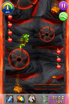 Screenshots of the Yogo The Turtle game for iPhone, iPad or iPod.