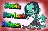 In addition to the game Angry Panda (Christmas and New Year Special) for iPhone, iPad or iPod, you can also download Zombie Barricade Defense for free