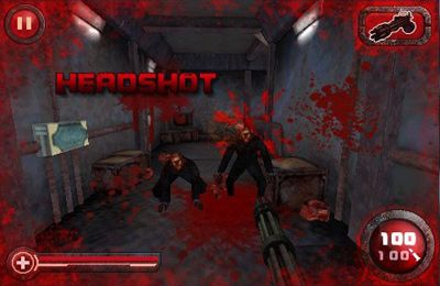 Screenshots of the Zombie Crisis 3D game for iPhone, iPad or iPod.