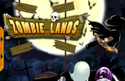 Download Zombie lands iPhone free game.