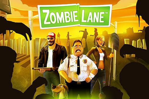 Download Zombie lane iPhone free game.