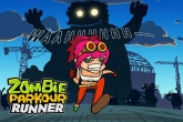 In addition to the game Death Drive: Racing Thrill for iPhone, iPad or iPod, you can also download Zombie: Parkour runner for free