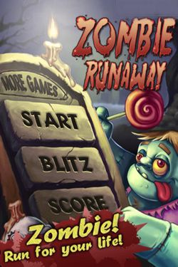 Screenshots of the Zombie Runaway game for iPhone, iPad or iPod.
