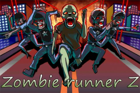Download Zombie runner Z iPhone free game.
