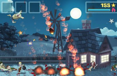Screenshots of the Zombie Smash game for iPhone, iPad or iPod.