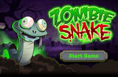 Download Zombie Snake iPhone free game.
