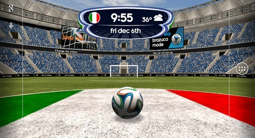 Screenshots Of The Adidas  Fifa World Cup For Android Tablet Phone