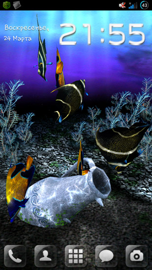 My 3d Fish Live Wallpaper For Android My 3d Fish Free