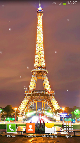 Screenshots of the Night in Paris for Android tablet, phone.