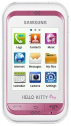 Mobile themes for Samsung Hello Kitty