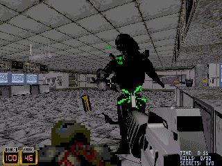 Alien versus Predator (Duke Nukem MOD) - Symbian game screenshots. Gameplay Alien versus Predator (Duke Nukem MOD)