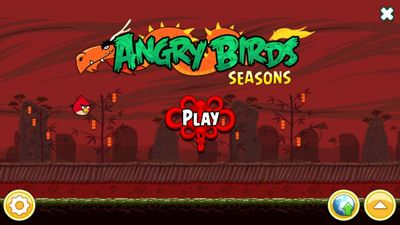 Angry Birds Seasons Year of the Dragon - Symbian game screenshots. Gameplay Angry Birds Seasons Year of the Dragon