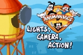 In addition to the sis game Digimon Battle Spirit for Symbian phones, you can also download Animaniacs Lights, Camera, Action! for free.