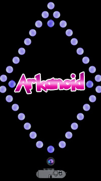 Arkanoid - Symbian game screenshots. Gameplay Arkanoid