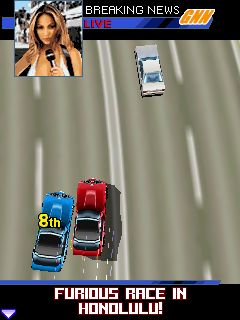 Asphalt 3: Street Rules 3D - Symbian game screenshots. Gameplay Asphalt 3: Street Rules 3D