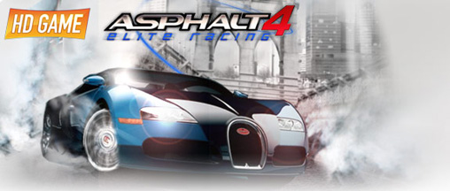 Asphalt 4 elite racing HD - Symbian game screenshots. Gameplay Asphalt 4 elite racing HD