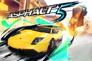 Asphalt 5 - Symbian game screenshots. Gameplay Asphalt 5