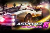 In addition to the sis game Doom for Symbian phones, you can also download Asphalt 6 Adrenaline HD for free.