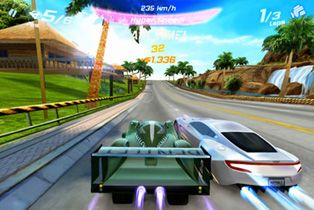 Asphalt 6 Adrenaline HD - Symbian game screenshots. Gameplay Asphalt 6 Adrenaline HD