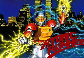 Atomic runner - Symbian game screenshots. Gameplay Atomic runner