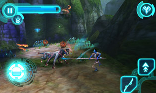 Avatar HD - Symbian game screenshots. Gameplay Avatar HD