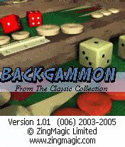 Backgammon - Symbian game screenshots. Gameplay Backgammon