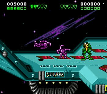 Screenshots of the sis game Battletoads & Double dragon: The ultimate