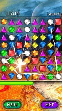 Bejeweled 2 HD - Symbian game screenshots. Gameplay Bejeweled 2 HD