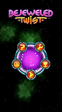 Bejeweled Twist - Symbian game screenshots. Gameplay Bejeweled Twist