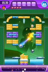 Block Breaker 3 Unlimited - Symbian game screenshots. Gameplay Block Breaker 3 Unlimited