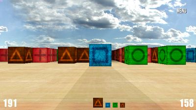 Blockfest Deluxe - Symbian game screenshots. Gameplay Blockfest Deluxe