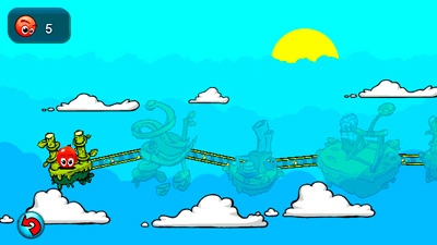 Bounce touch - Symbian game screenshots. Gameplay Bounce touch