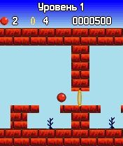 Bounce - Symbian game screenshots. Gameplay Bounce